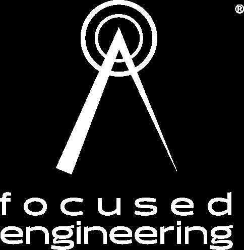 focused engineering logo stacked
